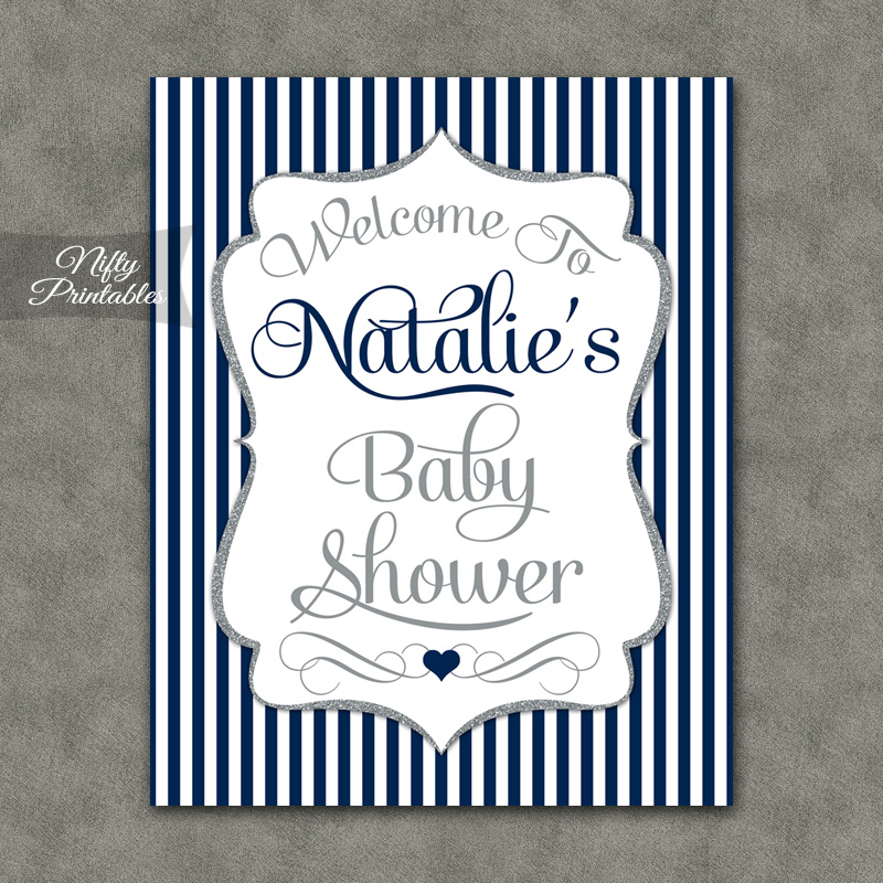home baby shower baby shower signs banners