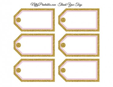 Printable don t say baby shower game pink gold