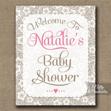 Baby Shower Signs & Banners