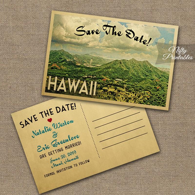 Wedding Invitations Hawaii: Hawaii Wedding Invitations VTW