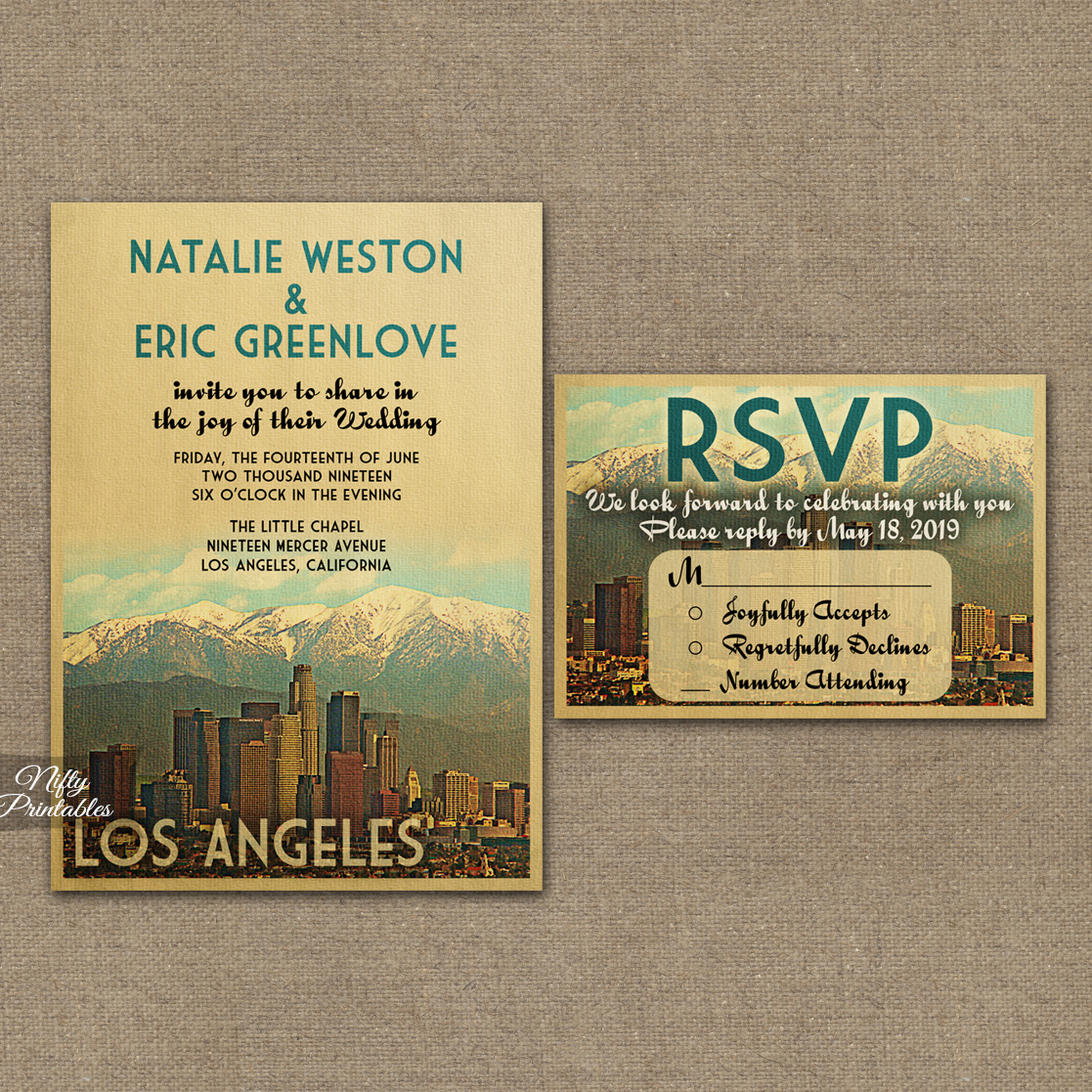 Wedding Invitations Los Angeles can inspire you to create best invitation template