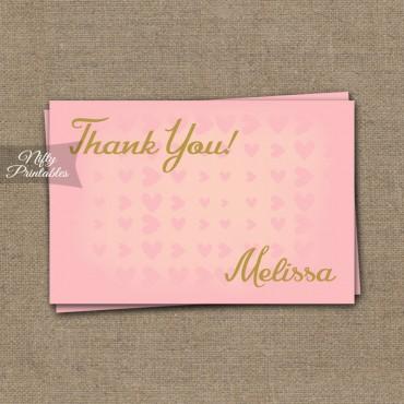 PinkHearts Thanks