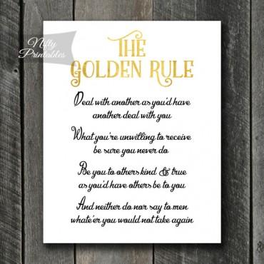 art golden rule