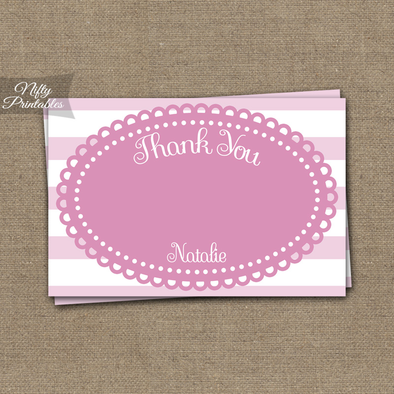 Loopy Pink White Bat Mitzvah Invitations