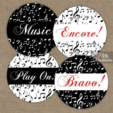 Music Cupcake Toppers