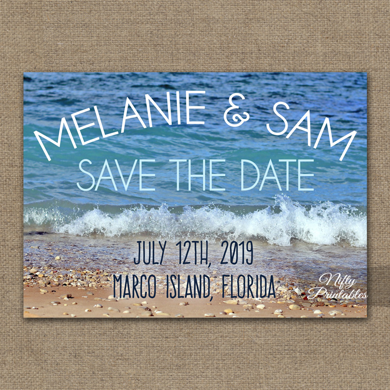 Save The Date Beach