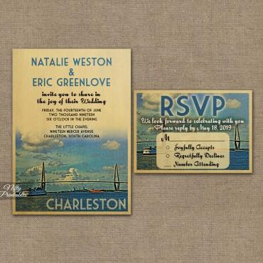 Charleston Save The Date Postcards VTW