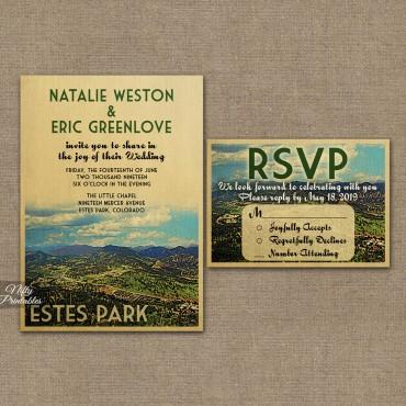 Estes Park Save The Date Postcards VTW