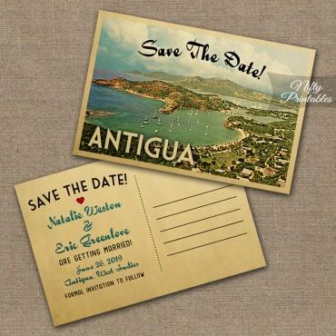 Antigua Wedding Invitations VTW