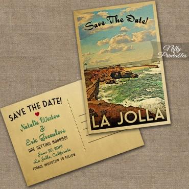 La Jolla Save The Date Postcards VTW