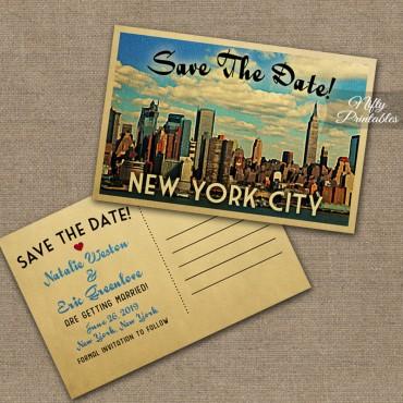 New York City Wedding Invitations VTW