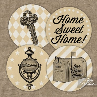 Housewarming Toppers - Vintage Style