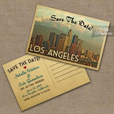 Los Angeles Wedding Invitations VTW