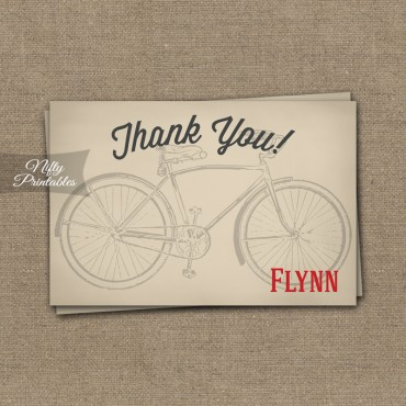 Bicycle Birthday Invitations