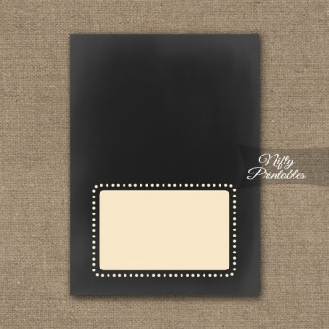 Chalkboard Place Cards or Tent Cards