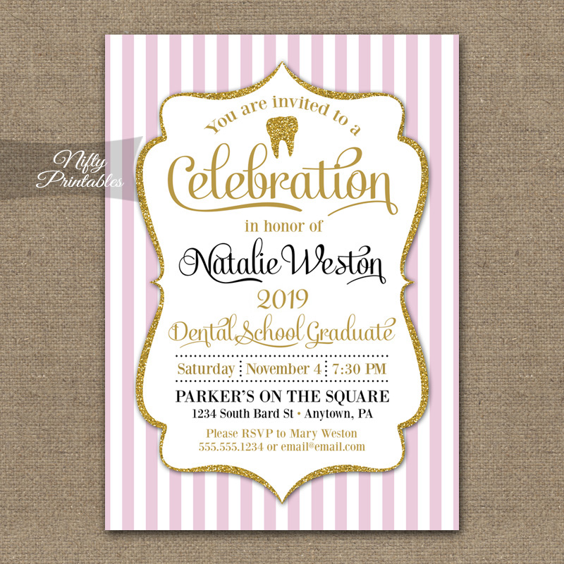 Dental School Graduation Invitations