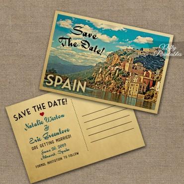 Spain Wedding Invitations VTW
