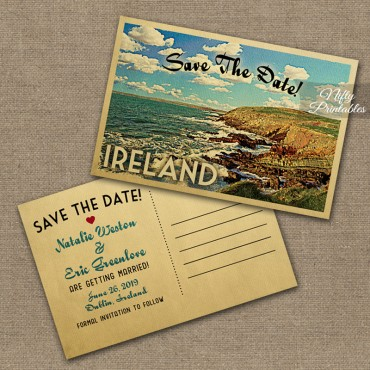 Ireland Wedding Invitations VTW