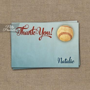 Baseball Baby Shower Invitations - Vintage Sports