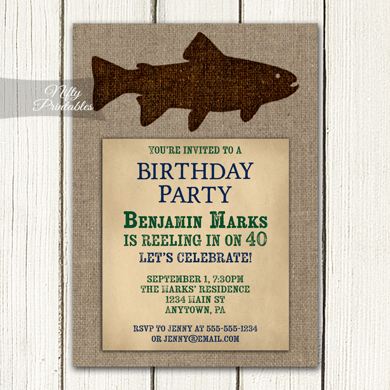 Adult Birthday Party Decorations & Invites - Non Age Specific