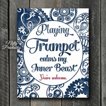 Trumpet Art Print - Beast