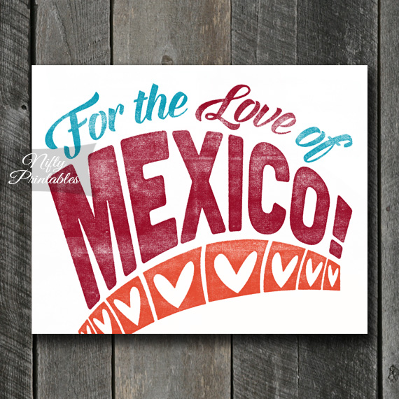 Mexico Print - For Love