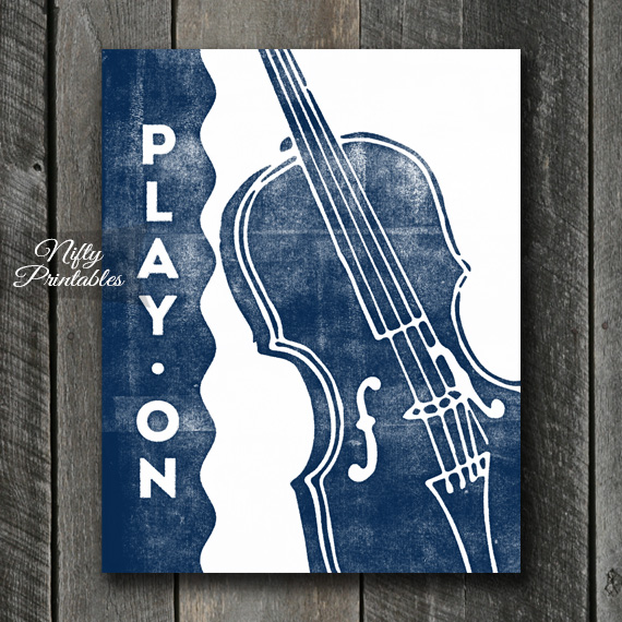 Violin Print - Play On