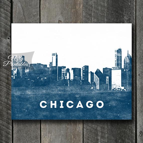 Chicago Print - Skyline