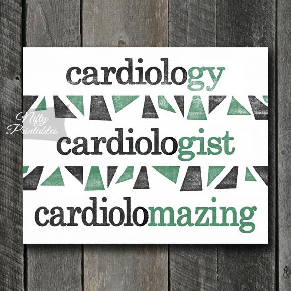 Cardiologist Art Print - Suffix