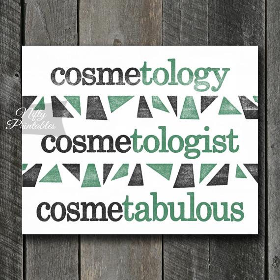 Cosmetologist Art Print - Suffix