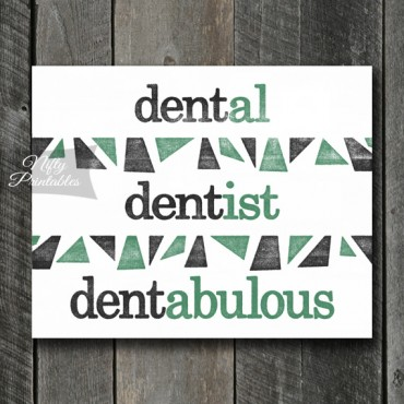 Dentist Art Print - Suffix