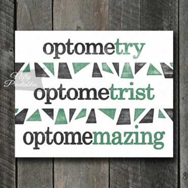 Optometrist Art Print - Suffix