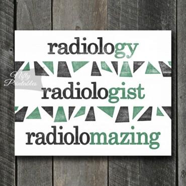 Radiologist Art Print - Suffix