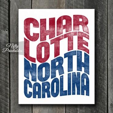 Charlotte Print - Wave