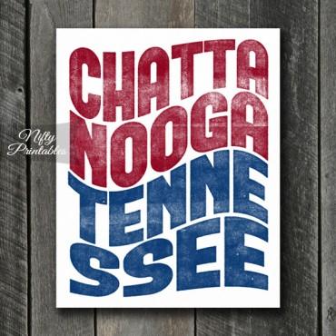 Chattanooga Print - Wave