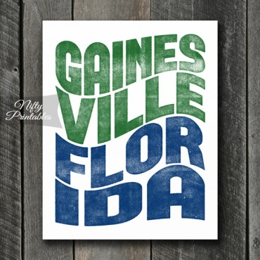 Gainesville Print - Wave