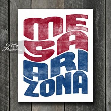 Mesa Print - Wave
