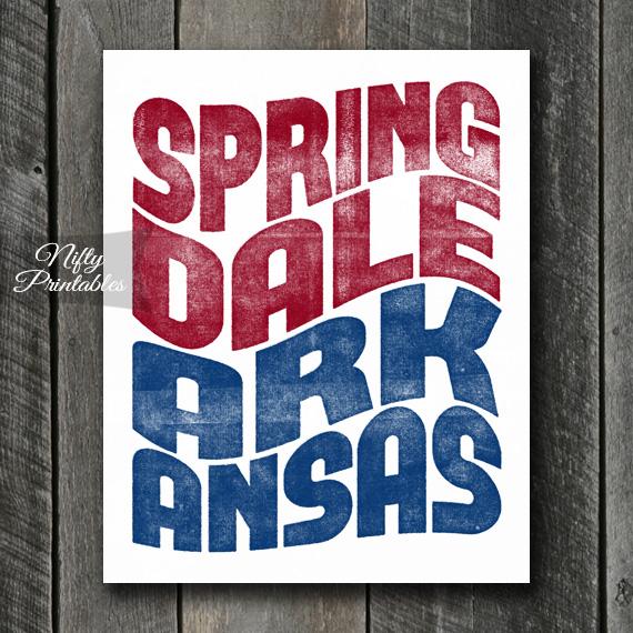 Springdale Print - Wave