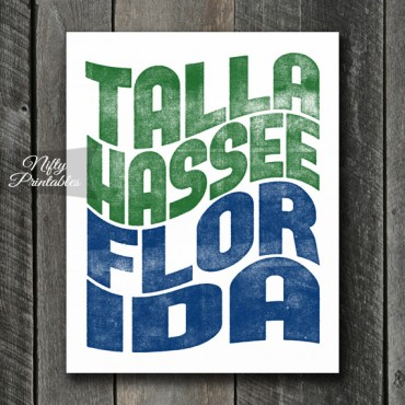 Tallahassee Print - Wave