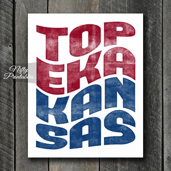 Topeka Art - Retro Wave