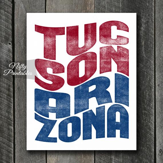 Tucson Print - Wave