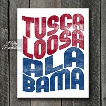 Tuscaloosa Print - Wave