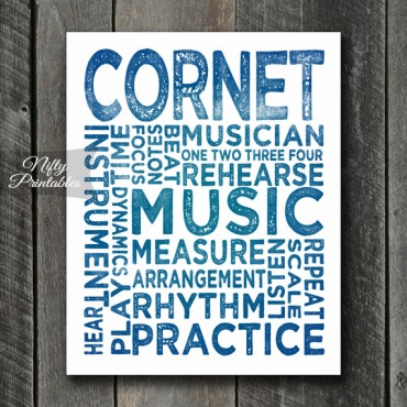 Cornet Art - Typography