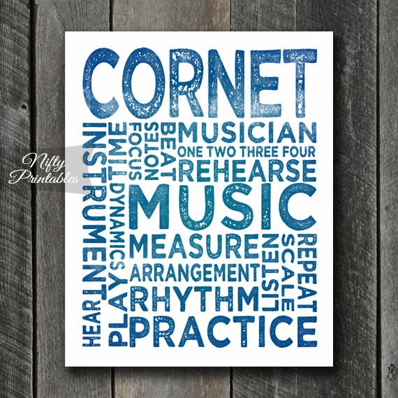 Cornet Art - Typography
