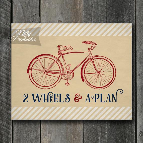 Two Wheels Bicyle Art