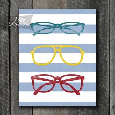 Eyeglasses Art - Shabby Ink