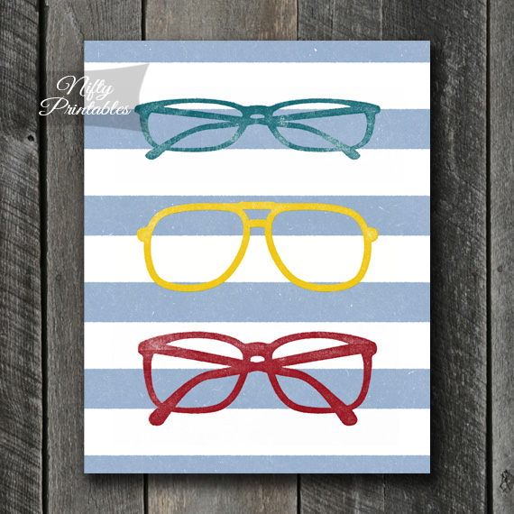 Eyeglasses Art - Shabby Ink