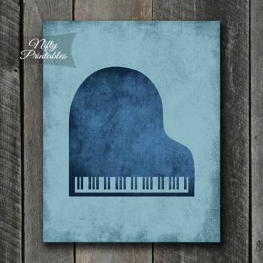 Grand Piano Blues Art