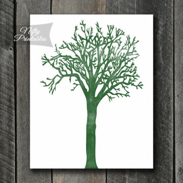 Minimalist Tree Art - Shabby Ink