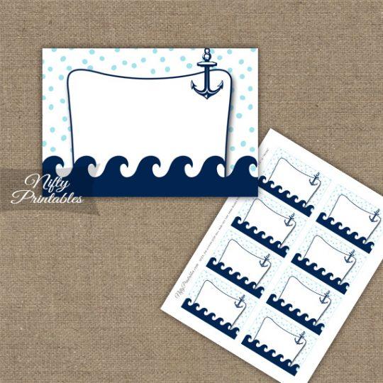 Labels - Aqua Nautical